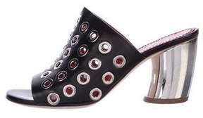 Proenza Schouler Eyelet Slide Sandals