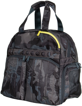 Camo Black Boxer Duffel Bag