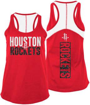 5th & Ocean Women's Houston Rockets Glitter Tank