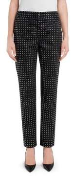 Moschino Studded Satin Pants