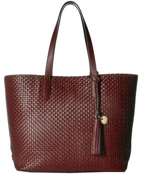 Cole Haan Woven Leather Payson Tote