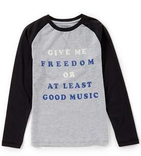Lucky Brand Little Boys 4-7 Raglan-Sleeve Good Music Tee