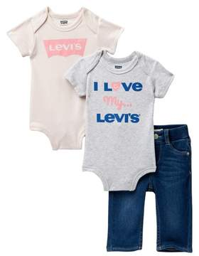 Levi's My First Jeans - Set of 3 (Baby Girls)
