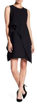 Eliza J Sleeveless Asymmetrical Hem Dress