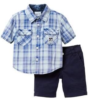 Joe's Jeans 2-Piece Woven Short Set (Baby Boys)