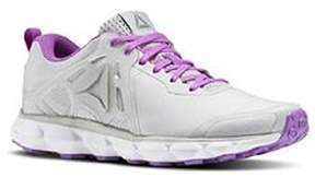 Reebok Women's Hexaffect Run 5.0 MTM Track Shoe, Skull Grey/Flat Grey/Vicious Violet/Pewter/White/Alloy, 8.5 M US
