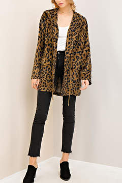 Entro Leopard Print Jacket