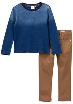 AG Jeans Ombre Shirt & Pants Set (Toddler Boys)