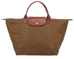 Longchamp Le Pliage Medium Tote Bag - GREEN - STYLE