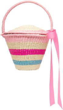 Sensi Studio M'O Exclusive Mini Striped Bucket Bag