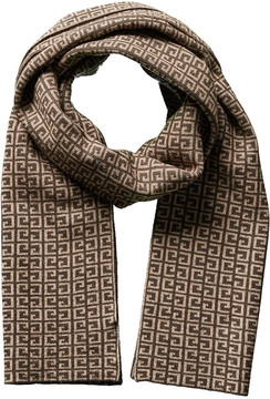 Portolano Men's Chocolate Gypsy Wool & Cashmere-Blend Scarf