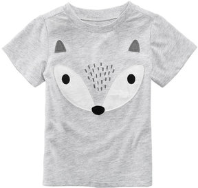First Impressions Fox-Print T-Shirt, Baby Boys (0-24 months), Created for Macy's
