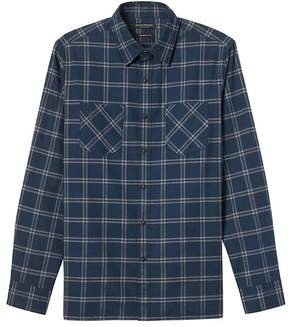 Banana Republic Camden Standard-Fit Flannel Double-Pocket Shirt