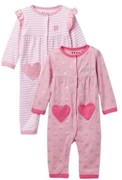 DKNY I Heart Assorted Coveralls (Baby Girls 12-18M)