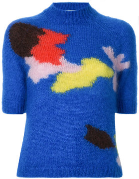 DELPOZO colour-block sweater top