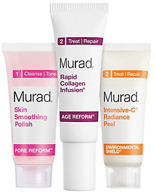 Murad Peel, Polish & Plump Gift Set