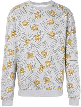 Moschino underbear logo sweatshirt
