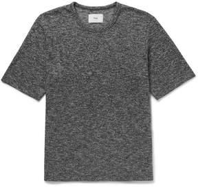 Folk Mélange Knitted Cotton T-Shirt