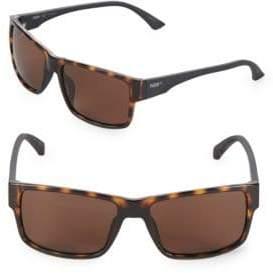 Puma 57MM Rectangle Sunglasses