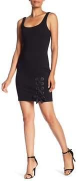 Amanda Uprichard Thames Lace-Up Dress