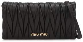 Miu Miu Quilted Leather Shoulder Bag