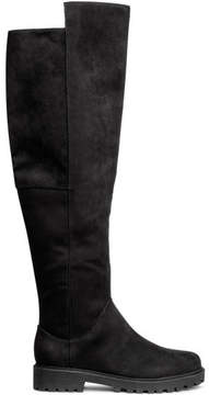 H&M Knee-high boots - Black