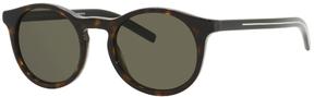 Safilo USA Dior Homme Black Tie 170 Round Sunglasses