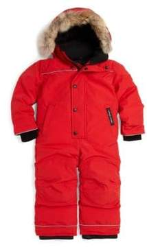 Canada Goose Toddler's & Little Boy's Fur-Trimmed Grizzly Snowsuit