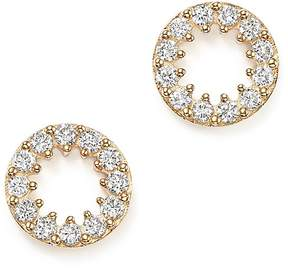 Bloomingdale's Diamond Circle Stud Earrings in 14K Yellow Gold, .35 ct. t.w. - 100% Exclusive