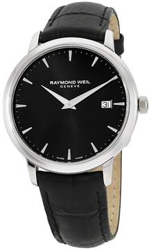 Raymond Weil Tocatta 5488STC20001 Stainless Steel & Leather Quartz 39mm Mens Watch