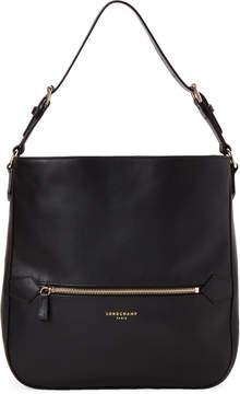 Longchamp Black 2.0 Leather Shoulder Bag