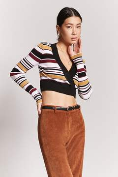 Forever 21 Crop Sweater-Knit Top