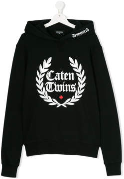 DSQUARED2 Caten Twins printed hoodie
