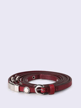 Diesel Belts P1004 - Red - 75