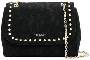 Twin-Set lace shoulder bag