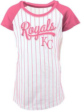 5th & Ocean Kansas City Royals Pinstripe T-Shirt, Girls (4-16)