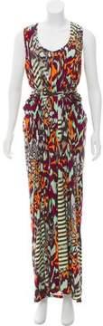 Matthew Williamson Printed Maxi Dress w/ Tags