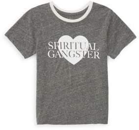 Spiritual Gangster Toddler's, Little Girl's & Girl's SG Love Tee
