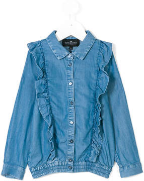 Little Remix ruffle panel shirt