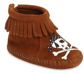 Minnetonka Infant X Free Range Mama Sail Into The Mystic Bootie