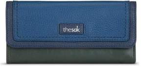 The Sak Women's Iris Flap Wallet with RFID Protection