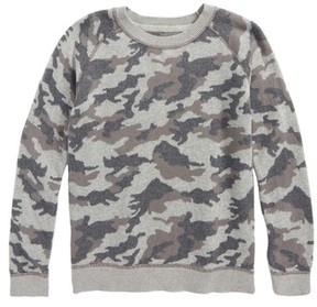 Tucker + Tate Toddler Boy's Camo Print Sweater