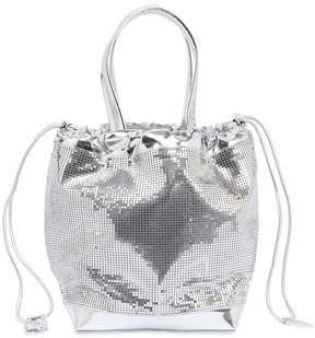 Paco Rabanne Medium Metal Mesh & Metallic Leather Bag