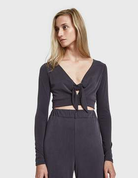 Which We Want Sondra Front Tie Top