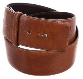 Lanvin Textured Leather Belt