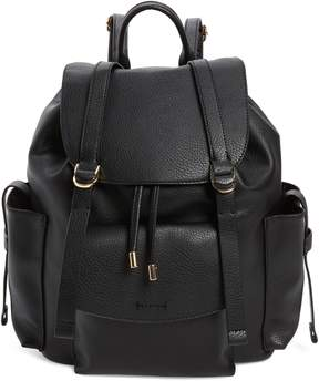 Topshop Becky Faux Leather Backpack