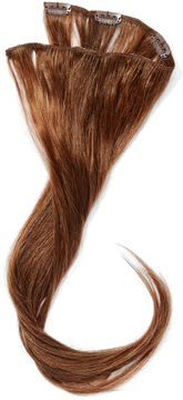 Hairdo. by Jessica Simpson & Ken Paves Ginger Brown 18'' Human Hair Highlight Hair Extension