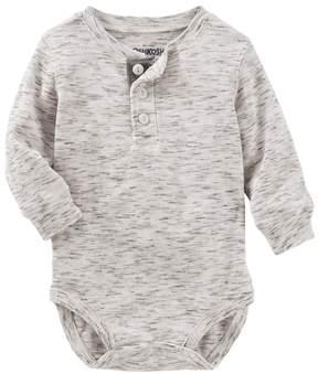 Osh Kosh Baby Boy Thermal Slubbed Bodysuit