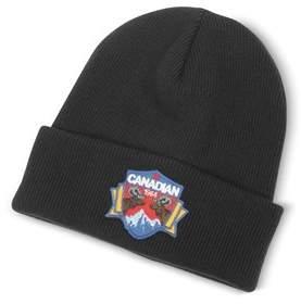 DSQUARED2 Men's Black Wool Hat.