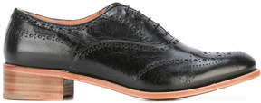 Church's chunky heel brogue shoes